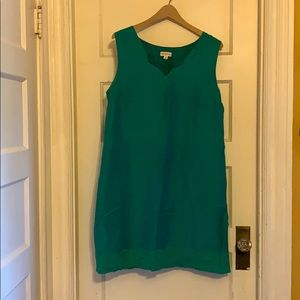 Merona Turquoise Shift Dress